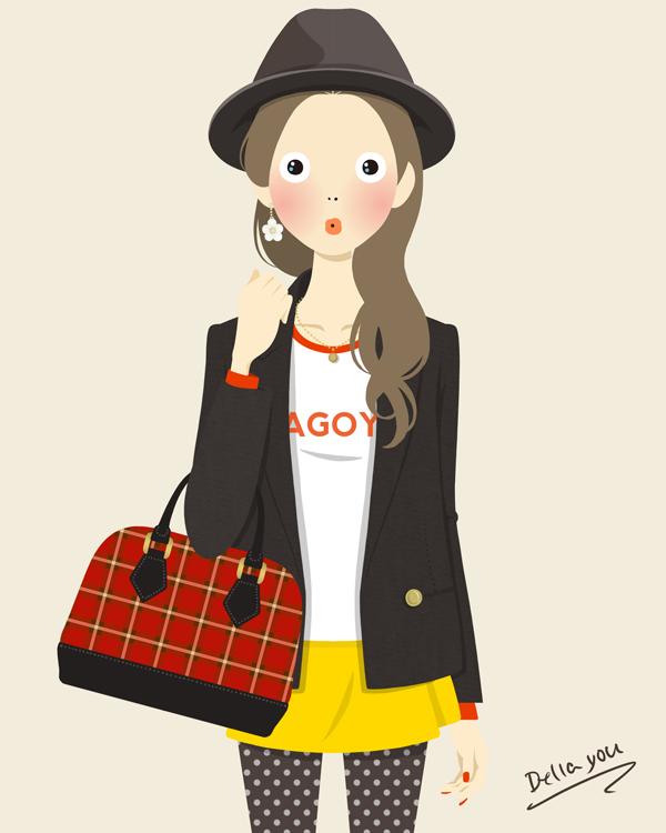 ファッションイラスト NAGOYA 名古屋